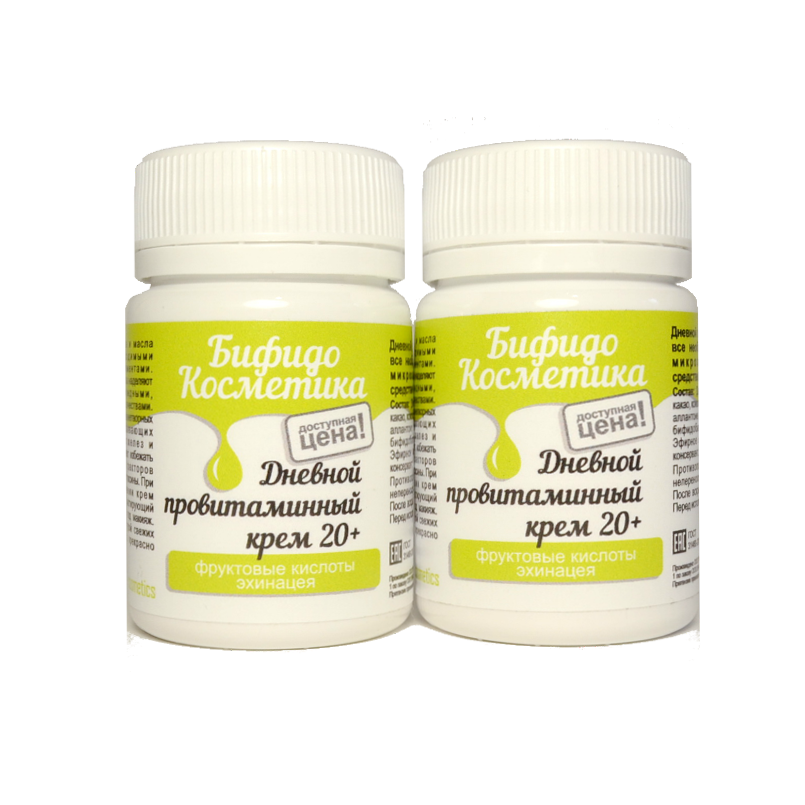 Дневной провитаминный крем 20+
